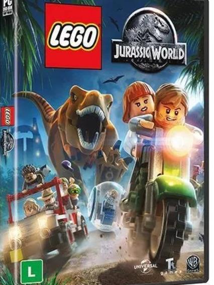 Lego Jurassic World Midia Fisica Para Pc Portugues Br