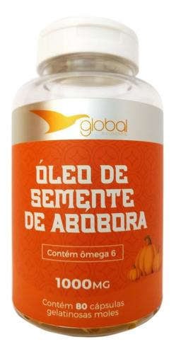 Oleo De Sementes De Abobora Cucurbita Prensado A Frio 80caps