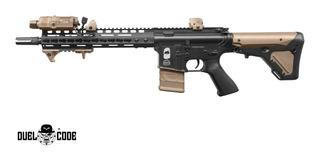 Marcadora Airsoft Duel Code M4 Denver Full Metal 6mm Coyote