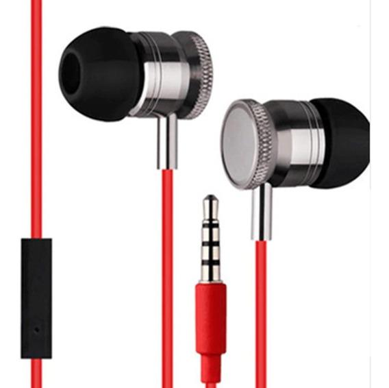Fone De Ouvido Com Microfone Knup Red Kp447