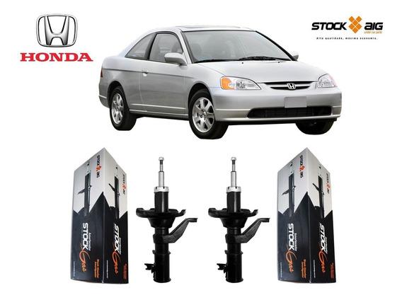 Par Amortecedor Dianteiro Honda Civic 2003 2004 2005 2006