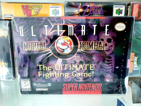 Ultimate Mortal Kombat 3 Cib Completa Original Snes Nintendo