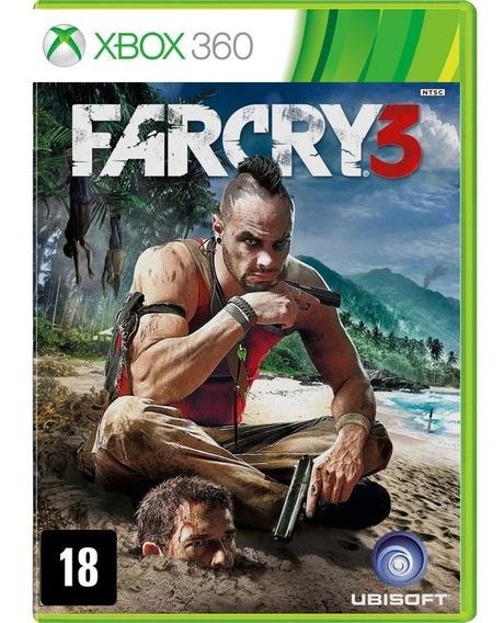 Game Far Cry 3 Xbox 360 Midia Fisica Novo Português Promoção