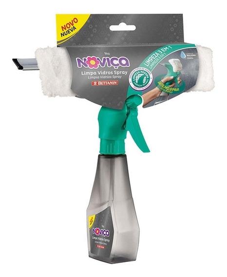 Mop Rodo Limpa Vidros Spray 3 Em 1 Lava Seca Noviça Bettanin