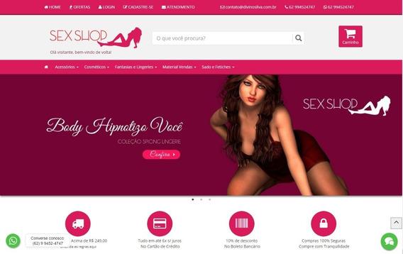 Vendo Uma Loja Virtual Para Sexshop Com Protos Completa
