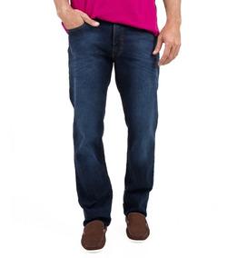 Calça Jeans 5 Pocket Com Elastano E Detalhes Jcanedo