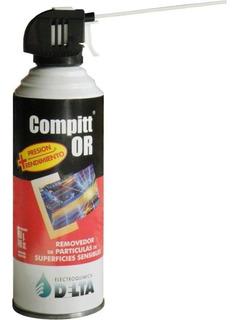 Aire Comprimido Compitt 440 Cc / 450 Gr - Distribuidor Delta