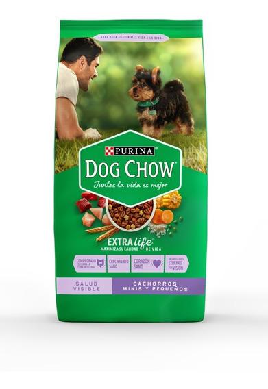 Purina® Dog Chow® Cachorros Minis Y Pequeños 21kg + Regalos