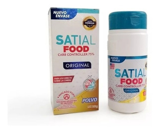 Satial Food Carb Controller Pvo 50g Bloq/carbohid Farm Charc