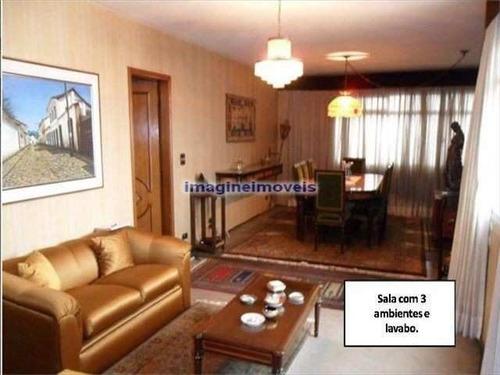 Imagem 1 de 6 de Apto No Belém Com 3 Dorms Sendo 1 Suíte, 1 Vaga, 220m² - Ap0796