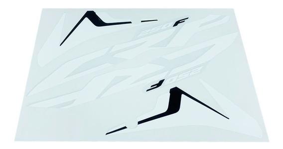 Par De Adesivos Espessura 0,18mm Aletas Asa Honda Crf 250f