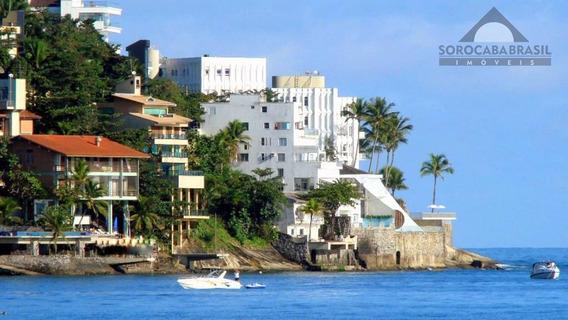 Sobrado Para Venda, Condomínio Peninsula No Guaruja-sp, 4 Vagas De Garagem, 5 Suítes, Área Construída 1.200,00m². - So0066