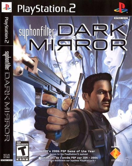 Syphon Filter Dark Mirror Playstation 2 Brinde 4 Jogos