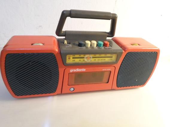 Radio/gravador/cassete Gradiente Mod. Mpg-2 (defeito)