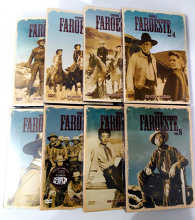 Box Cinema Faroeste Volumes 1 A 8 - 48 Filmes Lacrados