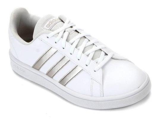 Tênis adidas Grand Court Base Feminino - Original