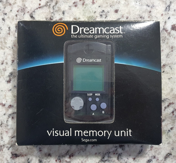 Vmu Dreamcast Original Na Caixa