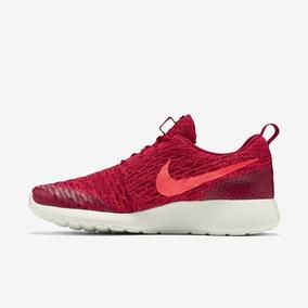 Tênis Nike Roshe One Flyknit Tamanho 40 Vermelho Original