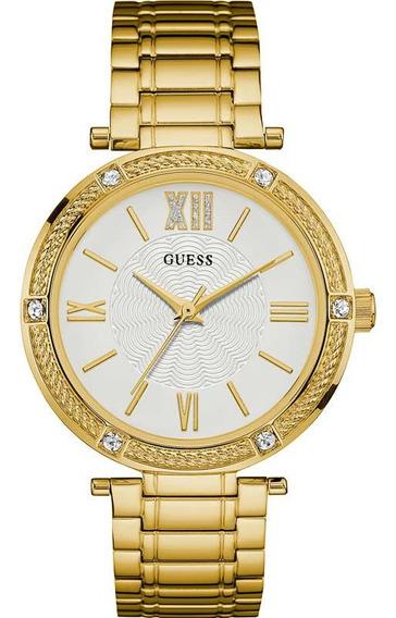 Relógio Guess 92609lpgdda2 L1/2 08/15 Aco Inox Feminino