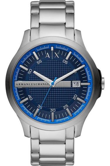 Relógio Armani Exchange Masculino Prata - Ax2408/1kn