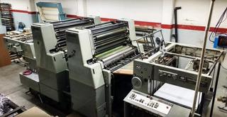 Impresora Offset Miller Tp41 72x104 2 Colores