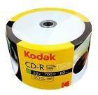 Kodak Branded White Inkjet Printable Blank Cd-r Cdr Media Di