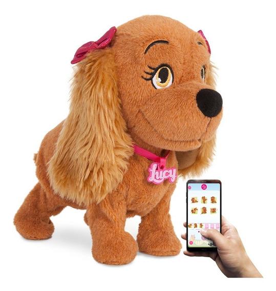 Cachorrinha Lucy Interativa Comando Por Voz/app Dança Canta