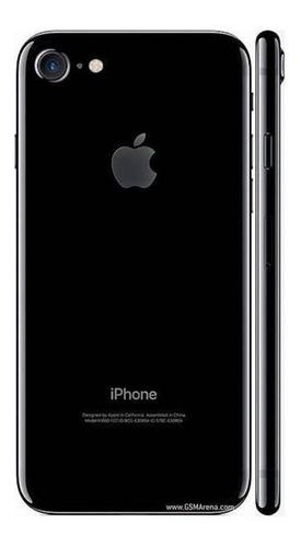 Tapa Trasera iPhone 7 Jet Black Simm Botones | MOSSMOBILE