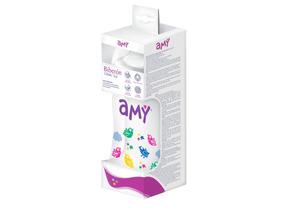 Teteros Amy Aves 150 Ml Caja Con 12 Teteros