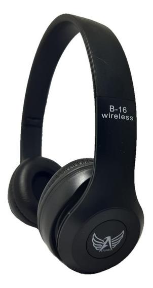 Fone De Ouvido Sem Fio Bluetooth Chamadas Fm Mp3 Usb