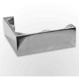 Pata De Aluminio Pulido Taco Corto N*11