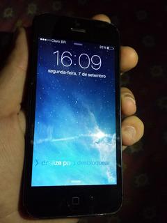 Apple iPhone 5 32gb Ios 8.3 Wi-fi Câmera De 8mp Nacional