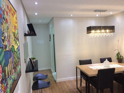 Apartamento Em Tatuapé, São Paulo/sp De 61m² 2 Quartos À Venda Por R$ 350.000,00 - Ap153194