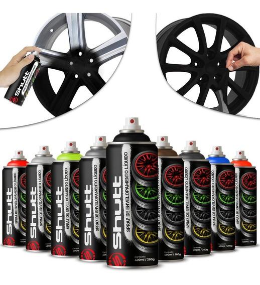 Spray Envelopamento Líquido Rodas Carro 400ml