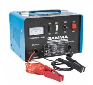 Cargador De Batería Gamma G2705 12 - 24 Volts - 10 Amp