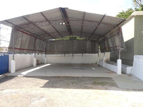 Galpão Comercial Para Alugar, 120 M² Por R$ 8.500/mês - Saboó - Santos/sp - Ga0048