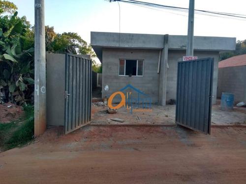 Casa Com 2 Dormitórios À Venda, 65 M² Por R$ 230.000,00 - Pinheirinho - Atibaia/sp - Ca0221