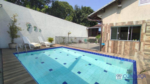 Imagem 1 de 30 de Casa Com 4 Dormitórios, 370 M² - Venda Por R$ 980.000,00 Ou Aluguel Por R$ 4.500,00/mês - Campo Grande - Rio De Janeiro/rj - Ca1624