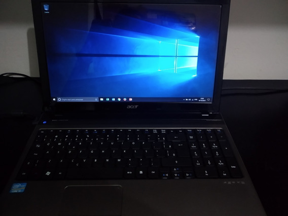 Notebook Acer Core I5, 4 Gb Ram