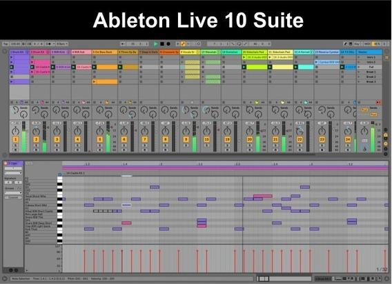 Ableton Live Suite 10.1.3 64 Bit Sequencer Instrumentos Efx