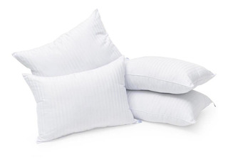 Pack 2 + 2 = 4 Almohadas Hotelera Microgel Deluxe Std A