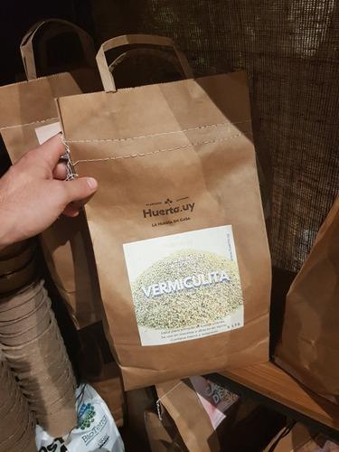 Vermiculita 5 Lts Bolsa Biodegradable Complemento Sustrato