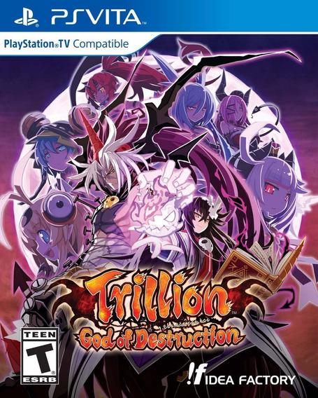 Trillion God Of Destruction - Ps Vita - Pronta Entrega!