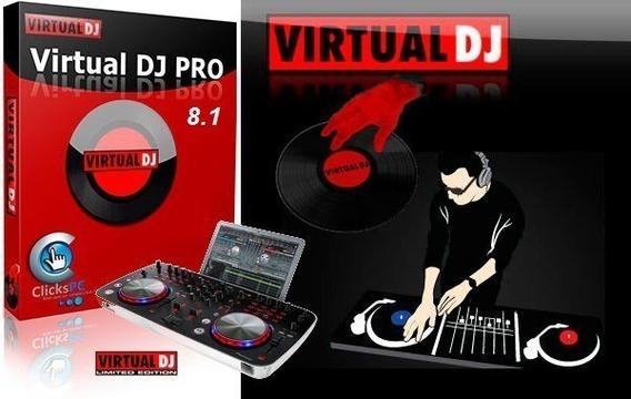 Virtual Dj Pro V8 + Soundeffect + Skins, Samples