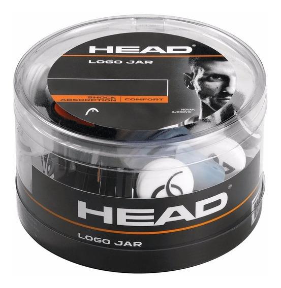 Antivibrador Head Logo Jar Novak Tenis Squash X 70 Unidades