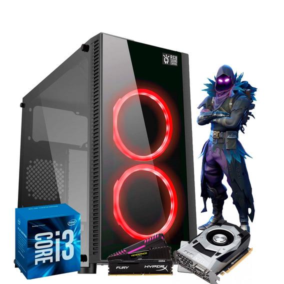 Pc Gamer Intel I3 7350k H110m Gtx1050ti 4gb 8gb Ssd240
