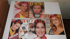 Revistas Claudia De 1988 Lote 5 Revista Anos 80 Veja Fotos