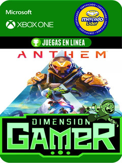 Anthem - Xbox One Modo Local + En Linea