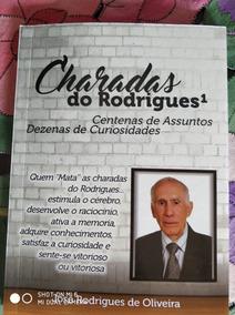 Livro Charadas Do Rodrigues