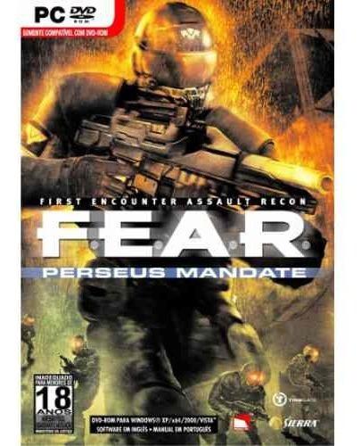 Game F.e.a.r. Perseus Mandate Pc Dvd Fear Original Lacrado